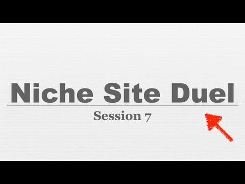 Niche Site Duel #007 Creating Income Streams From Your Niche Website
