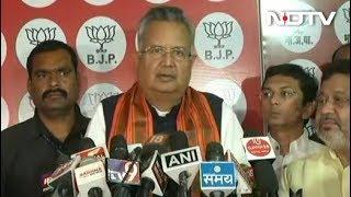 रमन सिंह बोले, चुनाव मेरे नेतृत्व में लड़ा गया था, इसलिए हार की नैतिक जिम्मेदार लेता हूं - NDTVINDIA