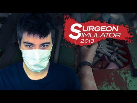 Surgeon Simulator 2013: Jestem NAJGORSZYM lekarzem ⁀⊙﹏☉⁀