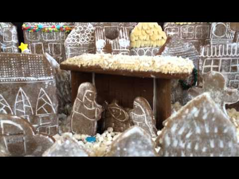 Baking Sweet Hope's Gingerbread Village