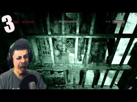 PERSONAS DESNUDAS WTA@@#$#%@ - OUTLAST # 3 (gameplay)