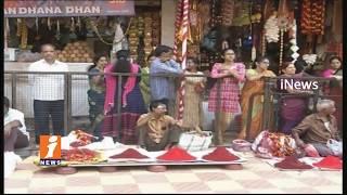 High Security And Massive Arrangements For Ujjaini Mahankali Bonalu In Secunderabad | iNews - INEWS