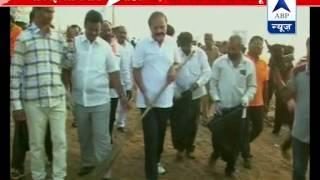 Venkaiah Naidu takes up swachhta abhyan - ABPNEWSTV