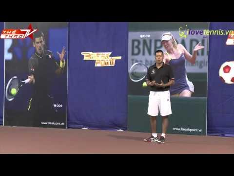 Chương trình hướng dẫn tennis Breakpoint Phần 12-Part 2