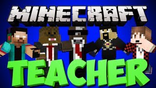 Minecraft TEACHER Minigame w/ AntVenom, TheBajanCanadian and More