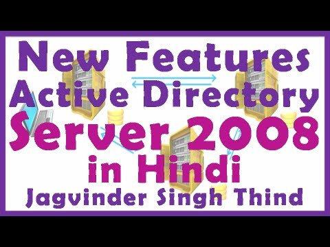 Active Directory in server 2008 Part 3 New features in Hindi