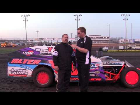 Cale Sponslor Modified Feature winner 04/27/13