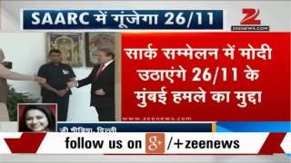 SAARC Summit: PM Modi to raise 26/11 Mumbai attack - ZEENEWS