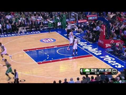 Avery Bradley 22 points season high (nice putback dunk) vs Sixers full highlights 03/05/2013 HD