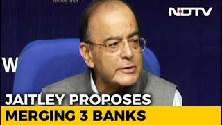 Dena, Vijaya, Bank Of Baroda To Merge To Form India's 3rd Largest Bank - NDTV