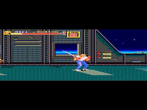 Streets of Rage 2 - Streets of Rage 2 Levels 5-6 - User video