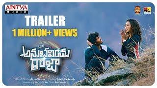 Life Anubavinchu Raja Trailer | Raviteja, Sravani Nikki, Shruti Shetty | Suresh Thirumur - ADITYAMUSIC