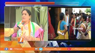 Congress Leader Akula Lalitha Face To Face Over Her Election campaign in Armoor | iNews - INEWS