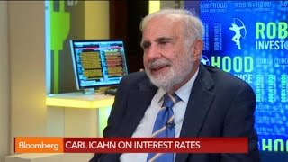 Carl Icahn: 'No-Brainer' High-Yield Market Is in a Bubble - BLOOMBERG