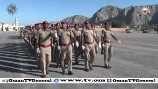 برنامجاً تسجيلياً عن احتفالات أسلحة قوات السلطان المسلحة بيوم القوات المسلحة ويوم المتقاعدين
