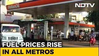 Petrol Price Crosses 90 Rupees In Mumbai, Cheapest In Delhi Among Metros - NDTV