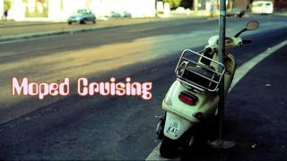 Royalty Free :Moped Cruising