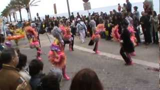 Carnaval exotic la Sesimbra, n Portugalia