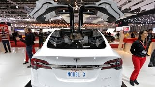 Why It's All About the Model X for Tesla - BLOOMBERG