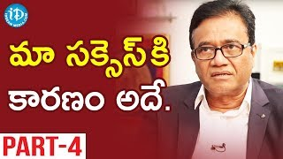 Pennar Engineered Building Systems MD PV Rao Interview - Part #4 || Business Icons With iDream - IDREAMMOVIES