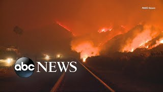 First fatality reported from California wildfires - ABCNEWS