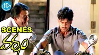 Varsham Movie Scenes - Jaya Prakash Reddy Asks Prabhas to Help Trisha from Gopichand - IDREAMMOVIES
