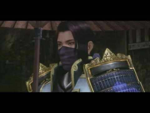 Samurai Warriors 3 - Mitsuhide Akechi All CG Cutscenes in English (HD)