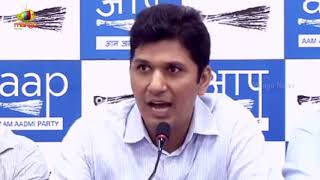 AAP Chief Spokesperson Saurabh Bhardwaj Over Parties Problems Over Legislative Decisions| Mango News - MANGONEWS