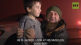 Kadyrov presents Mercedes to 5yo 'Chechen Schwarzenegger' reportedly doing 4k+ push-ups - RUSSIATODAY