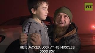 Kadyrov presents Mercedes to 5yo 'Chechen Schwarzenegger' reportedly doing 4k+ push-ups - RUSSIATODAY