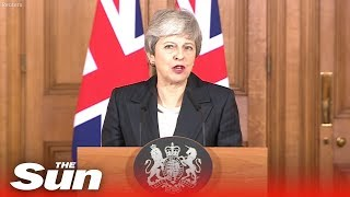 Theresa May says Brexit delay is a 'matter of great personal regret' as she blames MPs - THESUNNEWSPAPER