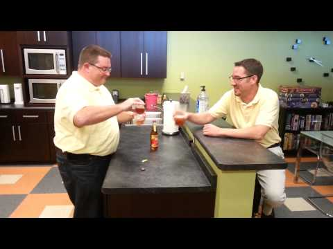 Bacon Soda Taste Test
