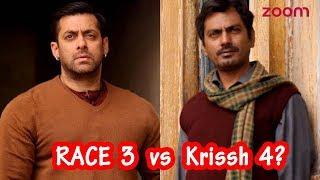 Race 3 Vs Krissh4 | Salman Khan To Face Off Nawazuddin Siddiqui In a Battle For The Best Villain? - ZOOMDEKHO