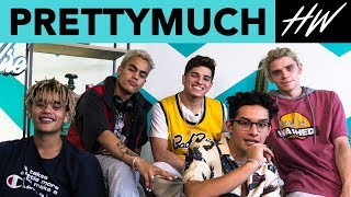 PRETTYMUCH Shares Their PERFECT Summer Playlist! - HOLLYWIRETV