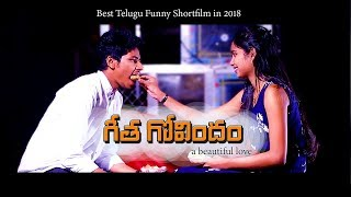 geetha govindham | best love story | 2018 latest Telugu comedy short film | PJ Music - YOUTUBE