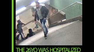 Thug kicks woman down subway stairs in Germany - RUSSIATODAY