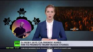 Shadow Player: Moby says CIA friends asked him to promote Trump-Russia stories - RUSSIATODAY