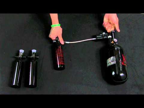 Ninja Paintball 3000psi Output Mobile Fill Station (PCP Tank, Regulator, and Fill Station)