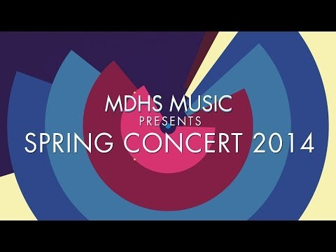 Backrow Politics - Monday Morning Blues Band - MDHS Spring Concert 2014