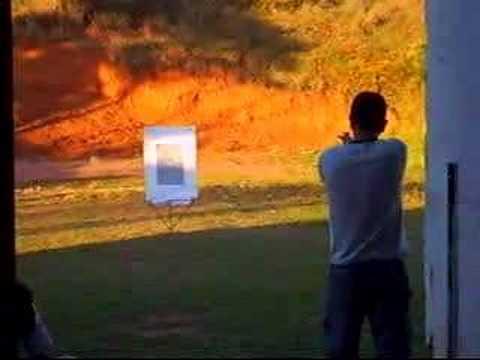 treinamento de tiros