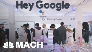 Google And Amazon's Smart Assistant Battle And Other Highlights From CES 2018 | Mach | NBC News - NBCNEWS