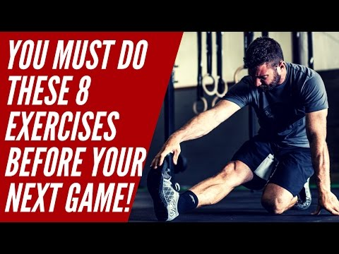The 8 Baseball Warm Up Exercises That You MUST DO Before A Game!