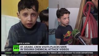 Visiting Douma 'chemical attack' site: Witnesses recall how White Helmets shot the video - RUSSIATODAY