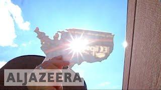 US solar eclipse: Celestial event crosses 14 states - ALJAZEERAENGLISH
