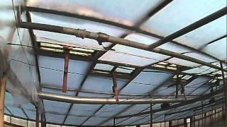 отопление теплицы-  водяное  отопление