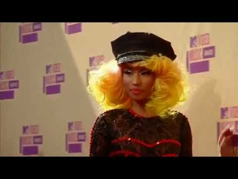Nicki Minaj Red Carpet MTV vmas 2012