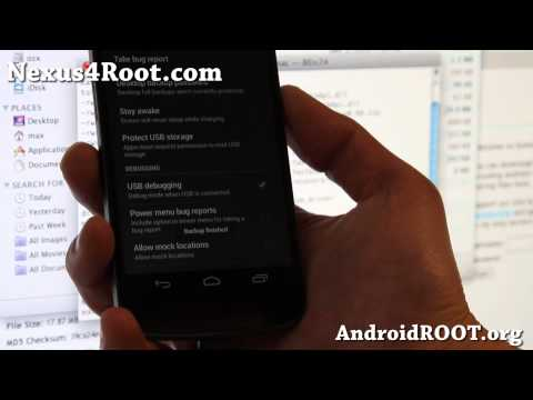 How to Root Nexus 4 on Mac OSX!