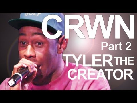 Tyler the Creator Reveals Family, Goats, and Playing w/ The Roots: CRWN w/ Elliott Wilson Ep 1 Pt 2