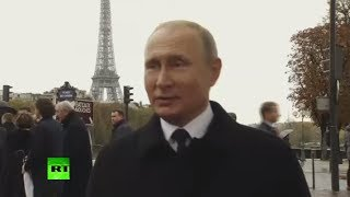 Putin positive on Macron's 'European army' plan, says it's good for multipolar world (EXCLUSIVE) - RUSSIATODAY