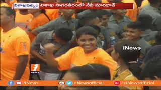 More Then 15000 Athletes Participated in Vizag Navy Marathon 2018   iNews - INEWS